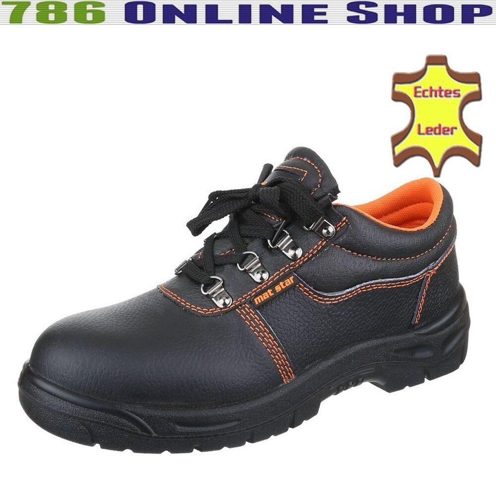 Herren Sicherheitsschuhe Boots (215C) Arbeitsschuhe Schutzklasse S3 Schuhe Neu