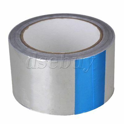 Emergency Repair 60mm Heat Shield Aluminum Foil Duct Tape Single Roll Silver