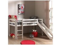 Middle bed slide ladder