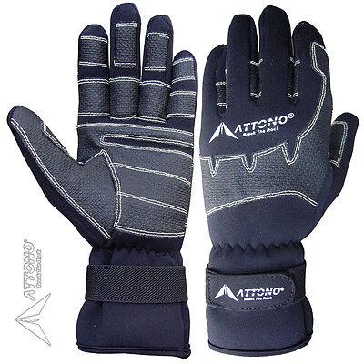 Segelhandschuhe von ATTONO Winter Segeln Regatta Wassersport Handschuhe