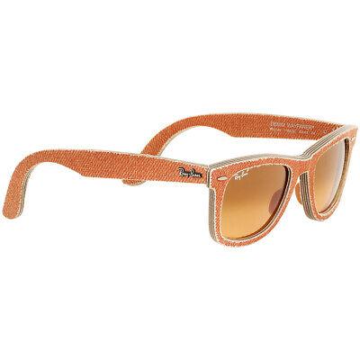 Ray-Ban Wayfarer Acetate Frame Orange Gradient Lens Unisex Sunglasses (C50 Sunglasses)