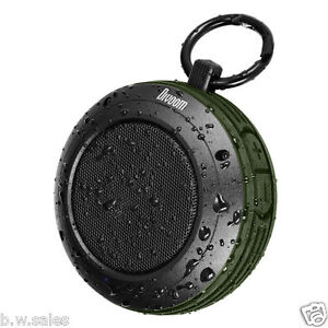 DIVOOM VOOMBOX PORTABLE WIRELESS BLUETOOTH 4.0 SPEAKER TRAVEL RUGGED Trim Green