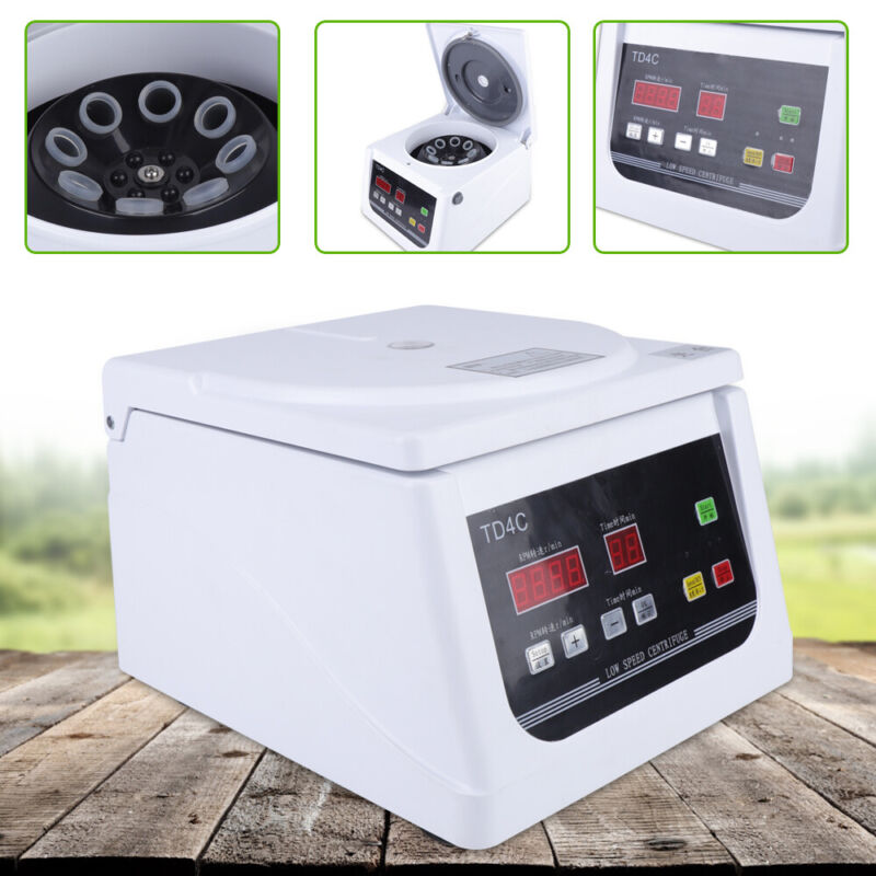 15mlx8 Tubes LCD Dispaly Low Speed Centrifuge Machine For Lab Medical Practice