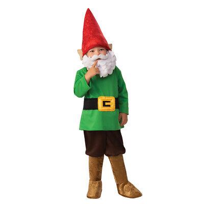 Garden Gnome Kids Costume (Boys Garden Gnome Child Halloween)