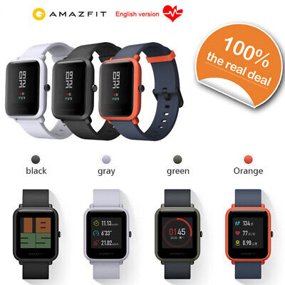 New Xiaomi Huami Amazfit Bip GPS IP68 Smart Bracelet Heart Rate Monitor Watch