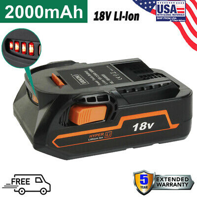 For RIDGID R840087 R840085 R840083 18Volt Lithium-Ion Battery 2.0AH Power Tools