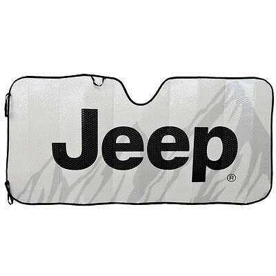 Jeep Classic Elite Mopar Automotive Sun shade Windshield Reflective Sunshade