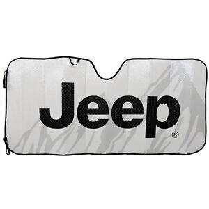 Jeep Classic Elite Mopar Automotive Sun shade Windshield Reflective Sunshade