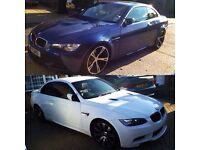 BMW E90, E92, E93 M3, E60, E61 M-SPORT BREAKING ALL PARTS AVAILABLE
