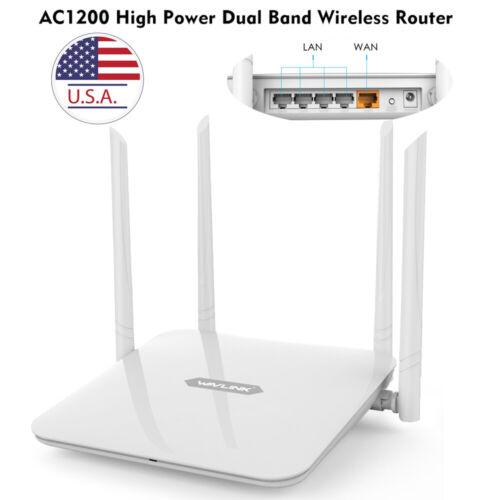 1200Mbps Gigabit WLAN WIFI Router Dual Band 2.4GHz/5GHz 4xLA