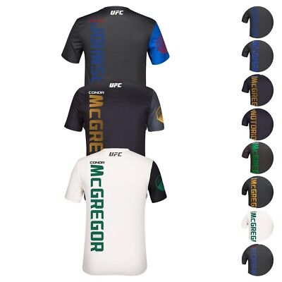 0ecf44ca6 UFC League Reebok Official Fight Kit Walkout Fighter Jersey Collection Men's