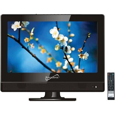 Supersonic SC-1311 13.3 720p LED TV, AC/DC Compatible for RV/Boat