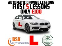 AUTOMATIC DRIVING LESSONS in a BRAND NEW 2017 BMW 1 SERIES - 2018 DEAL