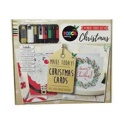 Uni POSCA Christmas Card Kit