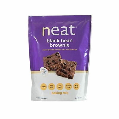 Vegan Black Beans - Neat Vegan - Black Bean Brownie Mix (11.6 oz.) - 1, 3, 4 or 6 Pack