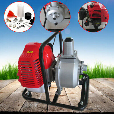 2hp High Flow Petrol Water Transfer Pump 2-stroke Air-cooled Single Cylinder Gas