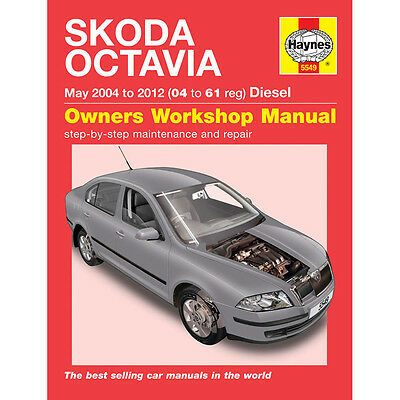 Skoda Octavia 1.9 2.0 Diesel 2004-11 (04 to 11 Reg) Haynes Workshop Manual
