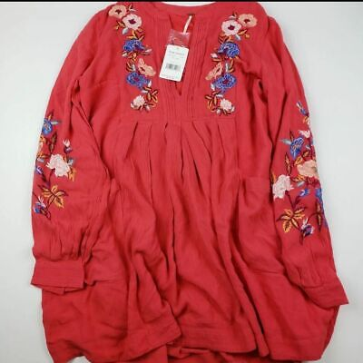 NEW Free People Large Embroidered Dress
