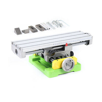Cross Slide Bench Drill Vise Fixture Working Table Milling Machine Worktable Usa