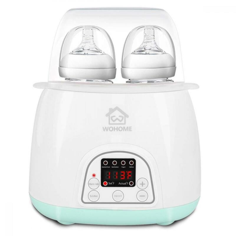 Bottle Warmer Sterilizer, WOHOME 5-in-1 Baby with Rapid...