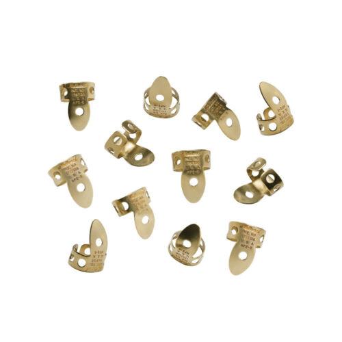 National Finger Picks - 12 Pack - Brass - From D Addario - $25.75