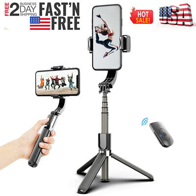 Smart 3 In 1 Gimbal Stabilizer Selfie Stick Tripod For Android/iPhone Smartphone