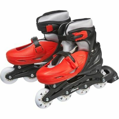 Monster Small Inline Skates - Red and Black (Size 2-4)
