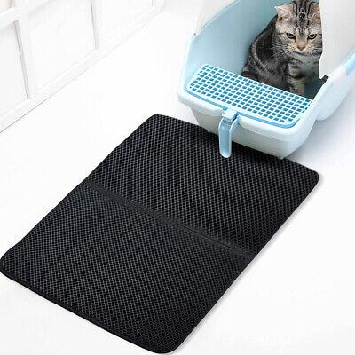 - US STOCK Cat Litter Mat EVA Double Layer Trapper Mats Waterproof Bottom Layer