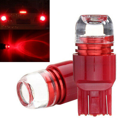 7443 7440 Red Flash Strobe Stop Brake Tail Light LED Bulbs For Honda Civic CR-V
