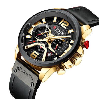CURREN 8329 Quartz Watch Business Men Simple Sport Wristwatch Three B2C6