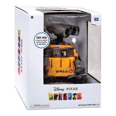 Disney Pixar Talk & Move Interaction Wall-E Robot Toy Action, Lights & Sound