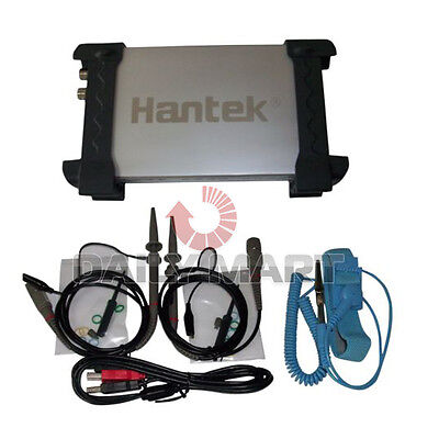 Brand New Hantek 6022be Pc Usb 2ch Digital Oscilloscope 20mhz 48m Sas 1m