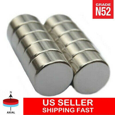 12 X 14 Inch Neodymium Disc Magnets Super Strong Rare Earth Magnet N52