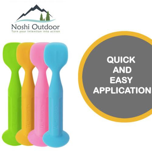 New-Improved Design-Silicone Baby Diaper Rash Cream Brush-Ointment Applicator Bl