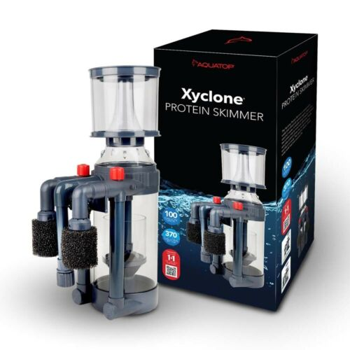 Aquatop Xyclone Protein Skimmer with Pump 370gph Up to 100gal  (Free Shipping*)