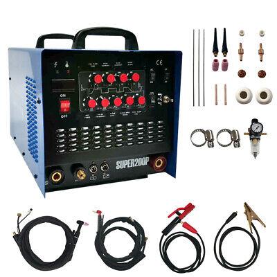 Acdc Pulse Tigmmacut Mosfet Aluminum Welding Machine 5 In 1