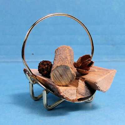 Fireplace Tool Set 1//12 scale dollhouse metal miniature  ISL2408-1