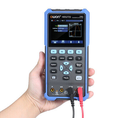 Hds272s 3in1 Protable Oscilloscope True-rms Multimeter For Automotive Electronic