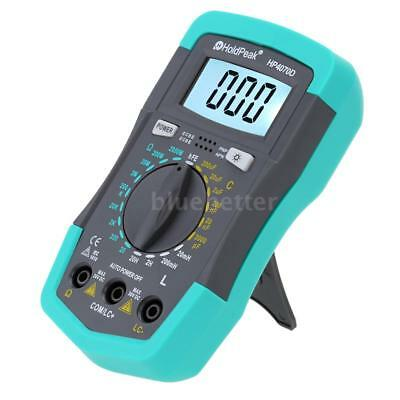 Lcd Digital Multimeter Lcr Meter Resistance Capacitance Inductance Tester