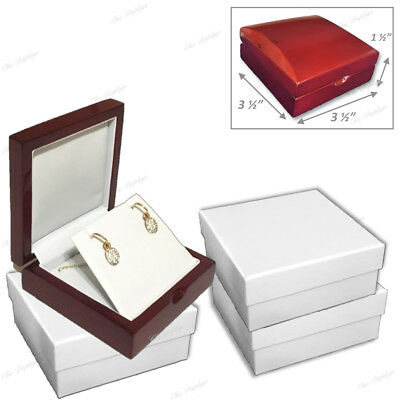 Pendant Jewelry Gift Boxes For Flap Earring Gift Boxes Pendant Set Gift Box 12pc