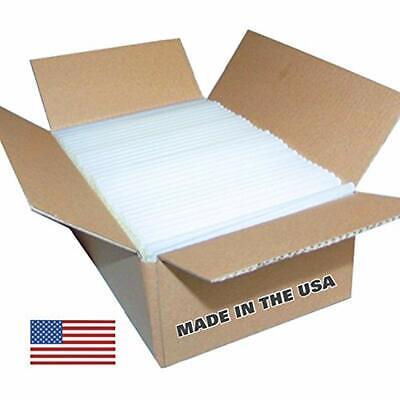 - 5 Lb Box (approx. 90 Sticks) Full Size Clear, High Quality, Best Bond, Hot