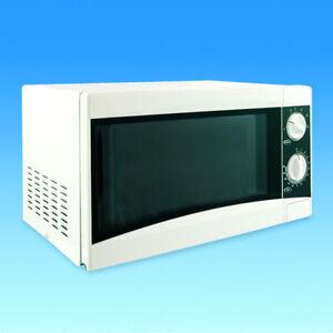 Low Wattage Microwave Oven Caravan Motorhome White