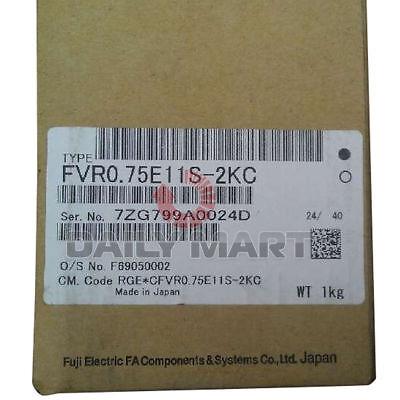 New In Box Fuji Fvr0.75e11s-2kc Frequency Converter Inverter 220v-0.75kw Nib