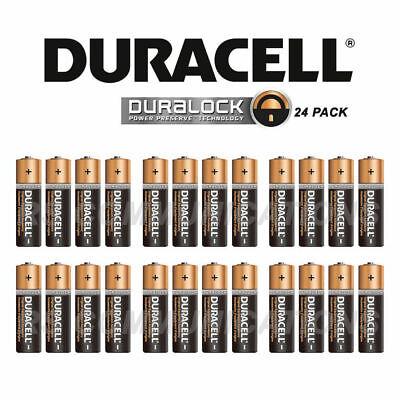 20 X AA Duracell 1.5V Alkaline Batteries LR06 DURALOCK Battery Z1