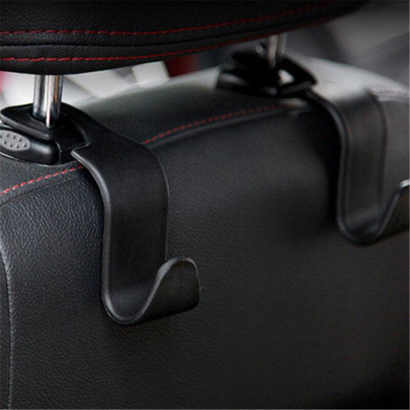 Black Car Auto Universal Hook Organizer Holder Back Seat Purse Coat Bag Hanger