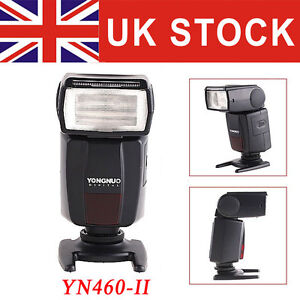 YONGNUO YN460-II Speedlite Flash Light for Canon 550D 20D 50D 30D Nikon Camera