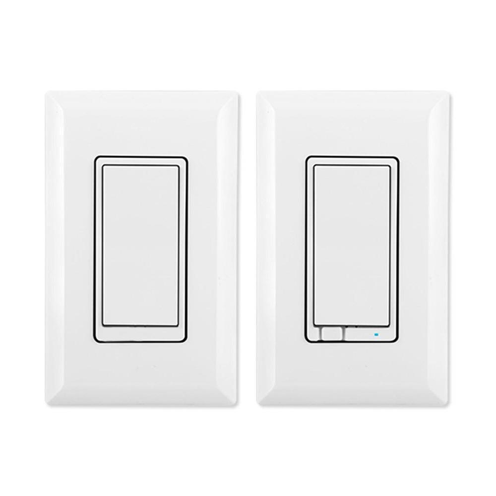 Details About Ge Jasco Fluorescent Led Lighting Control Wireless Plus Z Wave 3 Way Dimmer Kit