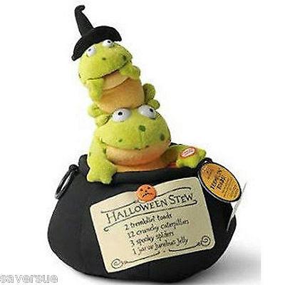 Hallmark 2008 Halloween Techno Plush Tremblin Toads ~ Sound & Motion ~ #LPR1557 ](Halloween Techno)