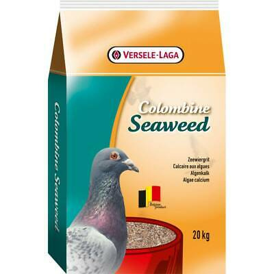 Versele Laga Colombine Seaweed Pigeon Feed Seed Mix - Rich in Minerals - 20kg