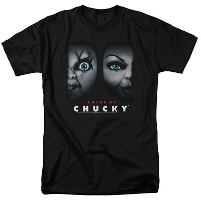 Adult Couples Movies (Bride Of Chucky Horror Comedy Movie Happy Couple Adult T-Shirt)